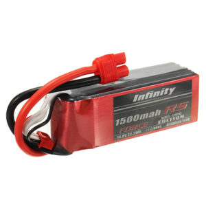 Infinity 1500mah 80C-110C 4S1P 14.8V FORCE EDITION Lipo Battery