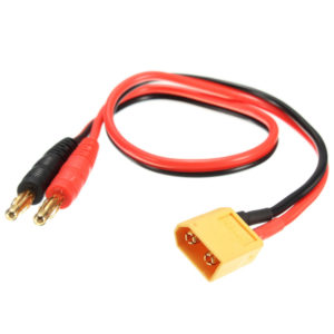 XT60 Connector to Banana Plug 4mm Battery Charger Cable